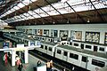 Earls Court Station - Main shed from above.jpg