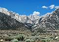 East Face of Sierra Nevada with Mt Whitney, CA 2015 (32272108125).jpg