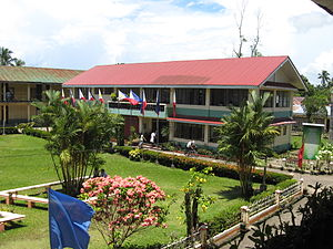 Borongan - Image: Eastern Samar National Comprehensive High School Administration Building