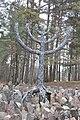Ebreju masu kapa vieta Rumbulas mežā (vairāk kā 26000 cilvēku) WW2, Rumbula, Rīga, Latvia - panoramio (11).jpg