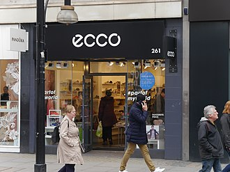 ECCO - Ecco, Oxford Street, London, 2016