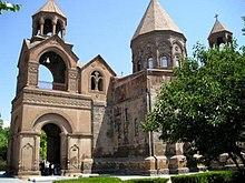 La Cattedrale di Echmiadzin