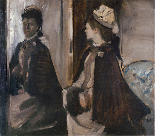 Edgar Degas - Mrs Jeantaud in the Mirror - Google Art Project