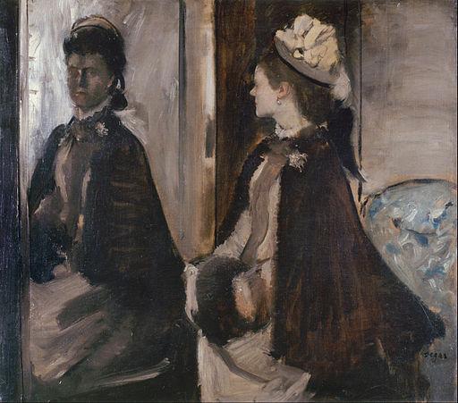 Edgar Degas - Mrs Jeantaud in the Mirror - Google Art Project