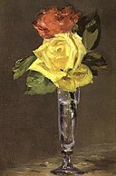 Edouard Manet - Roses in a Champagne Glass (13412514503).jpg