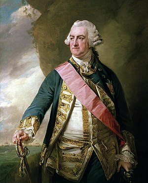 Falklands Crisis (1770) - Edward Hawke, 1st Baron Hawke the First Lord of the Admiralty who mobilised the Royal Navy during the crisis.