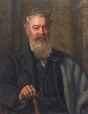 Edwin Waugh - Edwin Waugh (William Percy, 1882)