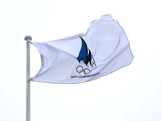 Estonian Olympic Committee - Flag of Estonian Olympic Committee