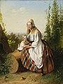 Eesti naine lapsega. Variant, Carl Timoleon von Neff, EKM j 6895 M 3195.jpg