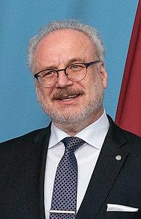 Egils Levits Latvian judge, lawyer and politician; President of Latvia (2019–present)