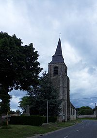 Eglise de Bavincourt,Pas de Calais,France.jpg