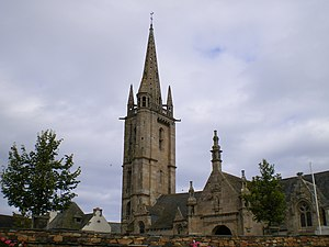 Plougasnou - The church of Saint-Pierre, in Plougasnou