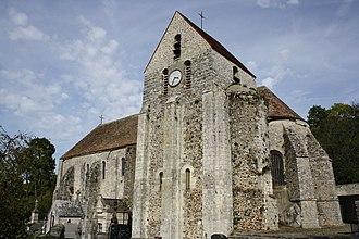 Rochefort-en-Yvelines - The church in Rochefort-en-Yvelines