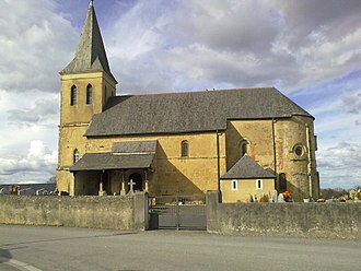 Simacourbe - The church of Simacourbe