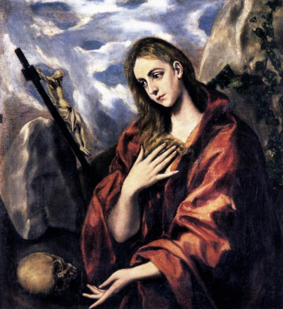 El Greco - Mary Magdalen in Penitence - WGA10476