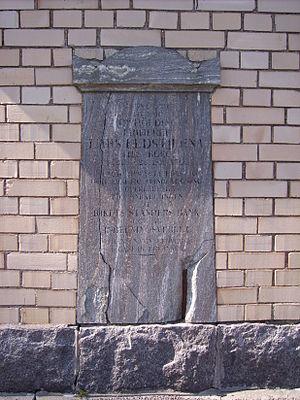 Lars Larsson Eldstierna - Grave of Lars Eldstierna.