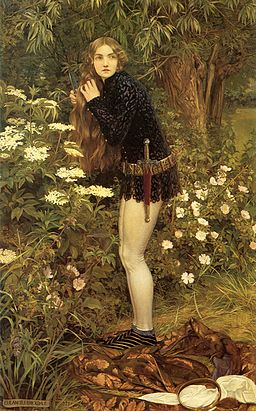 Eleanor Fortescue-Brickdale - The Little Foot Page