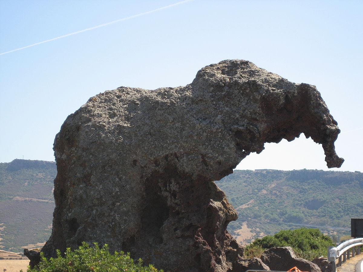 Roccia dell 39 elefante wikipedia - Elefante foglio di colore dell elefante ...
