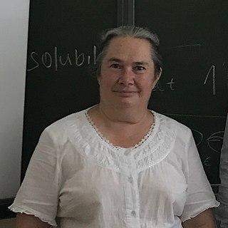 Elena Boldyreva Russian chemist