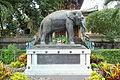 Elephant statue - Saigon Zoo and Botanical Gardens - Ho Chi Minh City, Vietnam - DSC01172.JPG