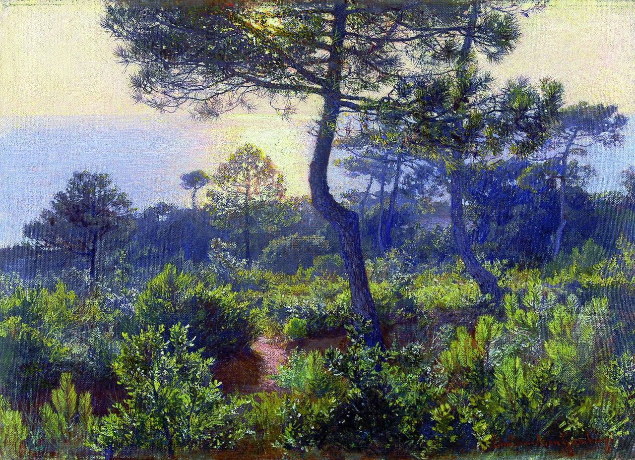 Elin Danielson-Gambogi - Sunset (1905).jpg