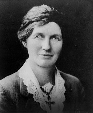 Lyttelton by-election, 1933 - Image: Elizabeth Mc Combs 1933