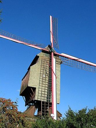 """Ellezelles - """"Wild cat"""" windmill (1751)"""