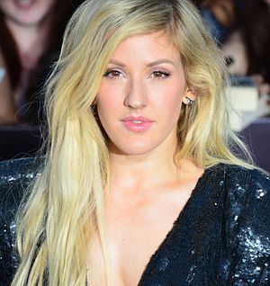 Ellie Goulding - Goulding at the premiere of the film Divergent on 18 March 2014