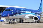 Embraer E190 at Expoaero 2013 Edition.JPG