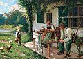 Emil Rau Ein Sommertag vor dem Haus.jpg