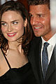 Emily Deschanel & David Boreanaz @ Farm Sancutary Gala 2006.jpg