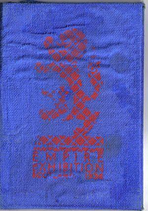 Empire Exhibition, Scotland - The logo of the 1938 Exhibition from a season ticket pass