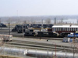 Norfolk Southern Railway - Enola Yard, PA