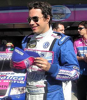 Enrique Bernoldi Brazilian racing driver