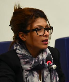 Ensaf Haidar Saudi human rights activist, wife of Raif Badawi