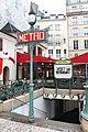 Entrée Métro St Michel Paris 1.jpg