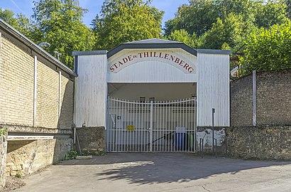Comment aller à Stade Du Thillenberg en transport en commun - A propos de cet endroit