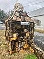 Entrance Gate, Webster Rock School, Webster, NC (46563331662).jpg