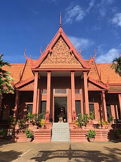 National Museum of Cambodia Art museum, Archaeology,and History in Phnom Penh, Cambodia