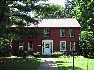 Pest House (Concord, Massachusetts) - Image: Ephraim Potter House, Concord MA