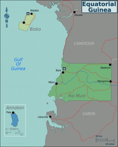 Equatorial Guinea – Travel guide at Wikivoyage