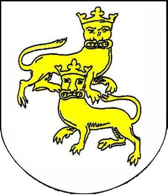 Margaret of Sweden, Queen of Norway - Heraldic lions used by the Erican dynasty