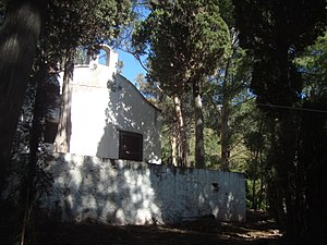 Ermita, Parque Natural del Desierto de Las Palmas en Castellón, Comunitat Valenciana.JPG