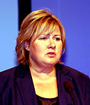 Erna Solberg 2009 Party Conference.jpg