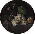 Es-uvas manzanas y claveles-prado.jpg