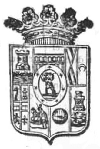 Coat of arms of the Community of Madrid - Image: Escudo de la Provincia de Madrid (1903)