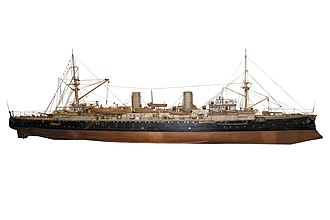 Chilean cruiser Esmeralda (1895) - Image: Esmeralda IMG 8662