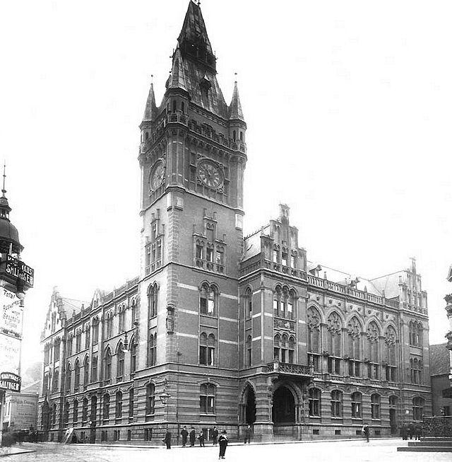 Rathaus Essen 18851964 Wikiwand