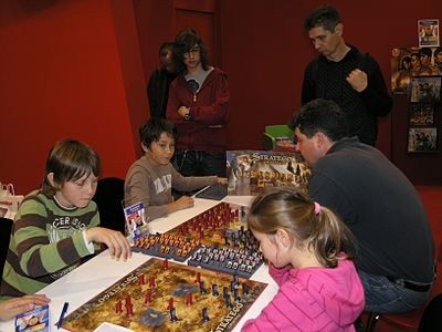 Picture of a game: Stratego