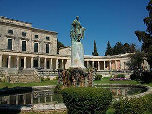 Frederick Adam - Statue by Pavlos Prosalentis in Corfu